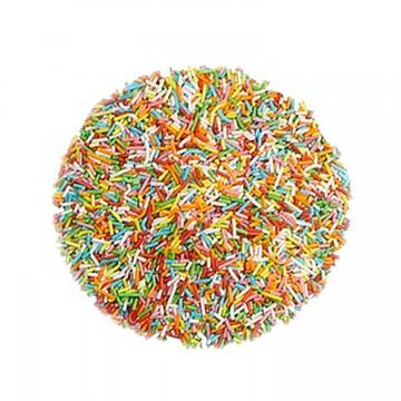 Fideos de chocolate de colores