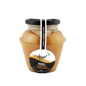 Miel cremosa con avellanas...