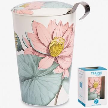 Taza Mug de flores