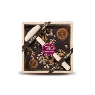 Chocolate negro  con martillo