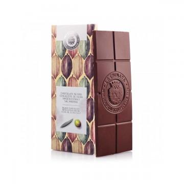 Chocolate negro con AOVE y...