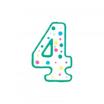 Vela verde nº4