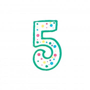 Vela verde nº5