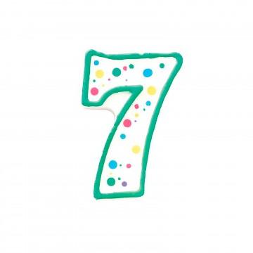Vela verde nº7