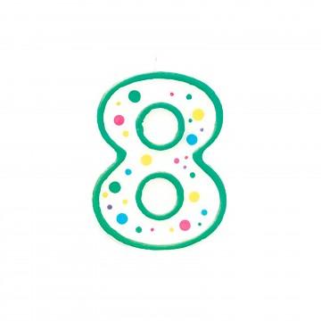 Vela verde nº8